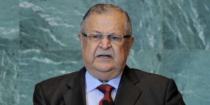 D'une sante fragile, M. Talabani a suivi à plusieurs reprises des traitements médicaux à l'étranger ces deux dernières années.