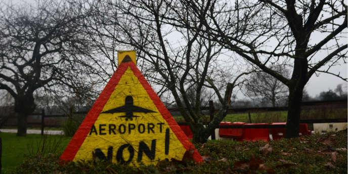 Dans la «zone à défendre» de Notre-Dame-des-Landes (Loire-Atlantique).