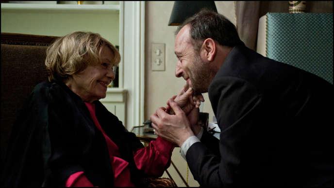 Jeanne Moreau et Patrick Pineau dans une scène du film