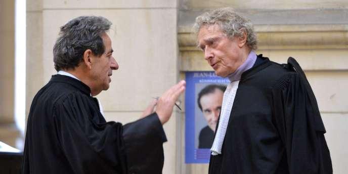 Les avocats Pierre Haïk et Jean-Yves Liénard respectivement défenseur de Frédéric Graziani et Philippe Terrazzoni