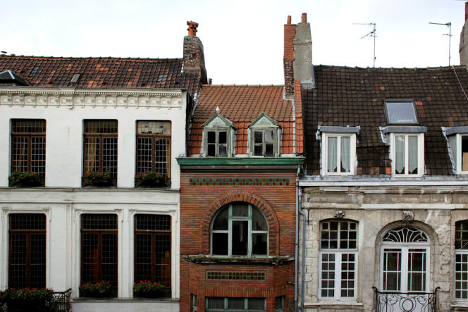 La maison d'Alberto Rodriguez (au centre) au 9, rue Saint-Jacques, à Lille.