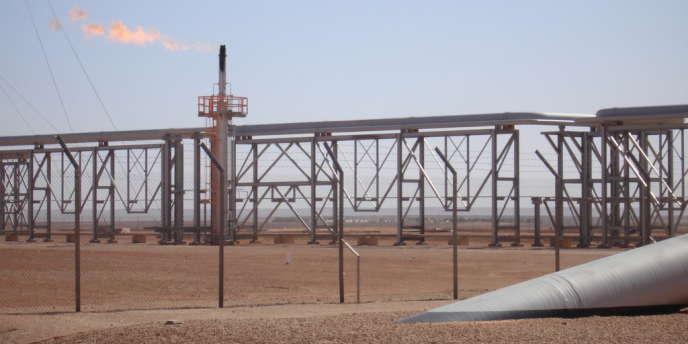 L'Algérie cherche à exploiter ses gisements de gaz de schiste.