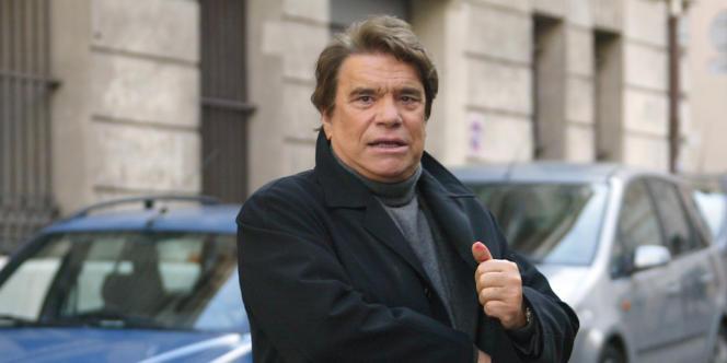 Bernard Tapie, en janvier 2008.
