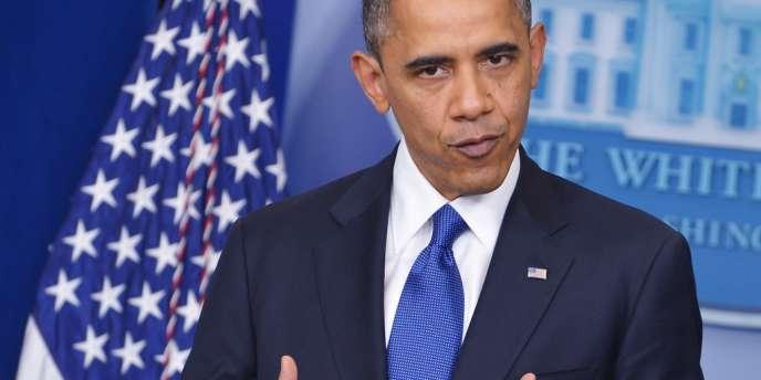 Discours de Barack Obama sur le mur fiscal, depuis la Maison Blanche, le 21 décembre 2012.