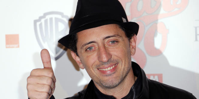 L'humoriste Gad Elmaleh.