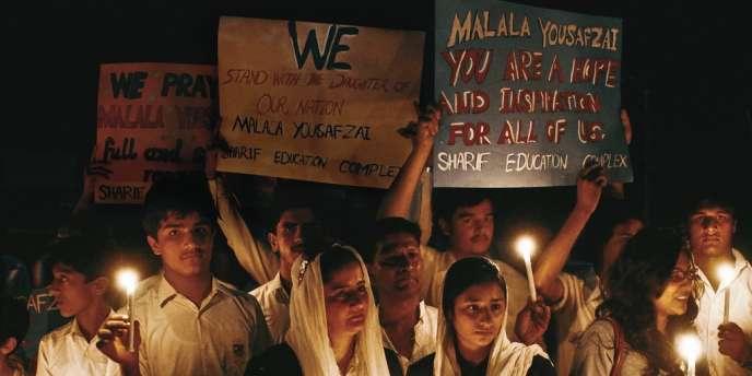 La tentative d'assassinat de cette pakistanaise de 15 ans, militante pour le droit à l'éducation des filles, a enflammé les réseaux sociaux. Et entraîné une mobilisation sans précédent partout dans le monde.