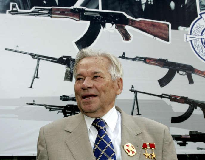 Mikhaïl Kalachnikov, père de l'AK47.