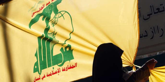 Drapeau du Hezbollah libanais.