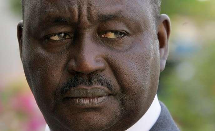 Le président centrafricain François Bozizé, en mars 2008.