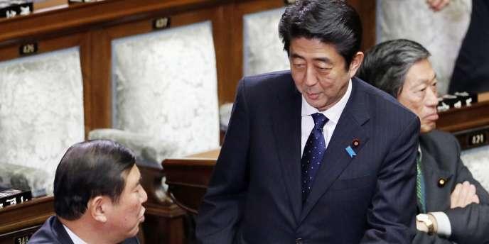 Le nouveau premier ministre japonais Shinzo Abe, le 27 décembre à Tokyo.