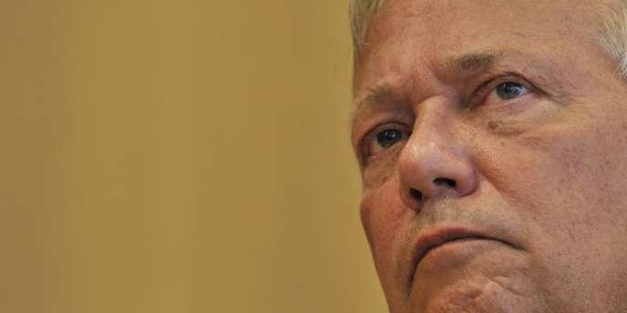 Willy De Roovere, directeur de l'Agence fédérale de contrôle du secteur nucléaire belge, en août 2012.