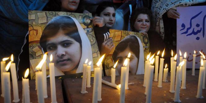 La jeune Malala Yousafzai a été victime d'un attentat des talibans pakistanais début octobre.