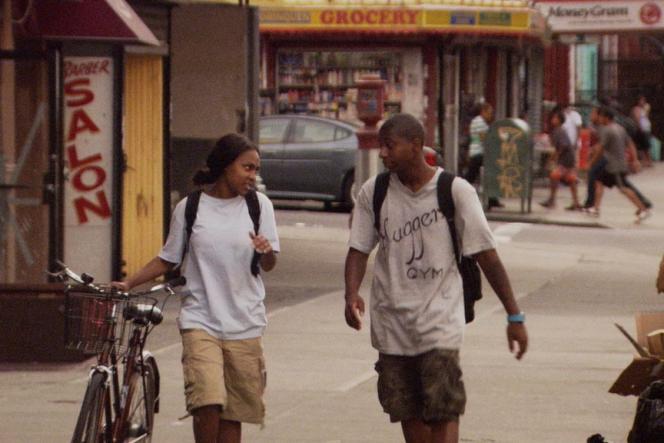 Tashiana Washington et Ty Hickson dans le film