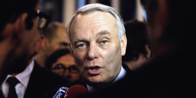 Le premier ministre Jean-Marc Ayrault, le 18 décembre