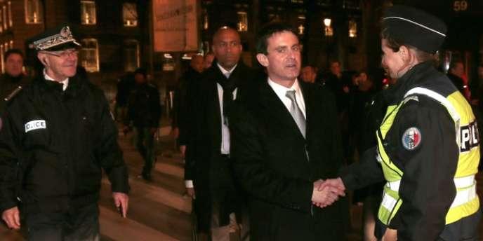Manuel Valls, le 31 décembre à Paris.