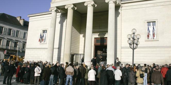 Le tribunal de Périgueux, en 2003.