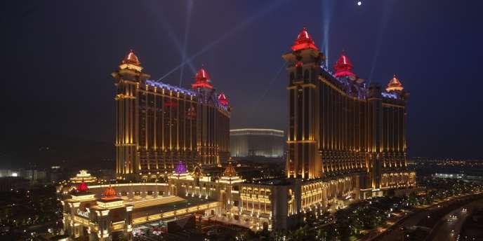 Les établissements de jeu macanais ont enregistré en 2012 un chiffre d'affaires de 38 milliards de dollars.