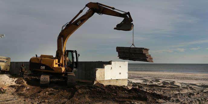 Selon les dernières estimations, l'ouragan Sandy a provoqué de 50 à 60 milliards de dollars de dégâts.