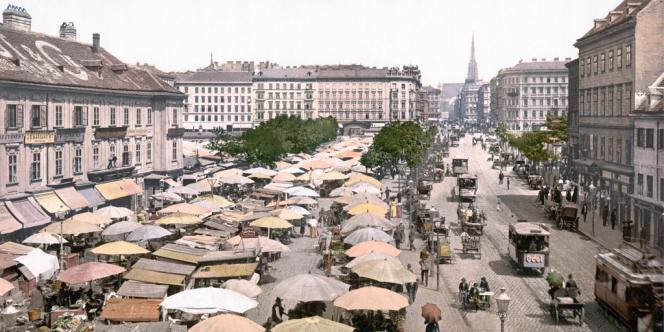 Vienne vers 1900.
