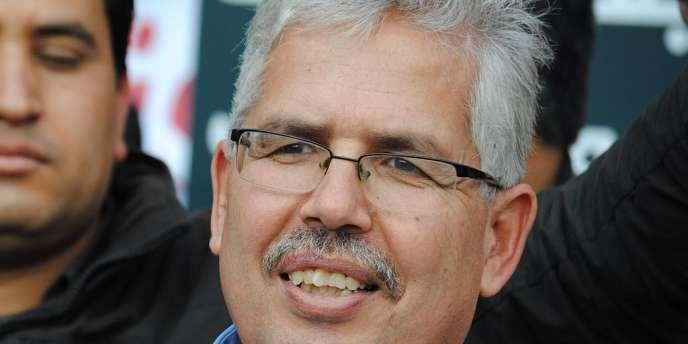 Le doyen de la faculté des lettres de la Manouba, Habib Kazdaghli, à Tunis.