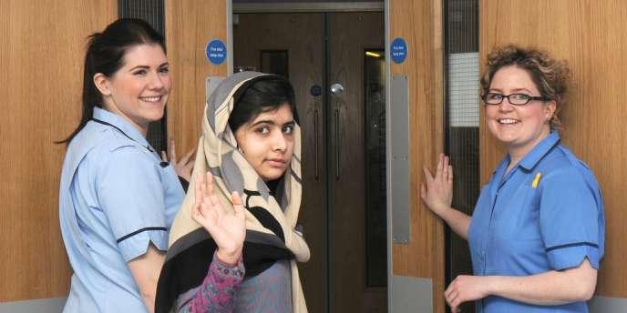 Malala Yousafzai quitte l'hôpital de Birmingham où elle était hospitalisée depuis le mois d'octobre, vendredi 4 janvier.