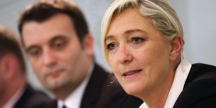 Marine Le Pen, le 8 décembre.