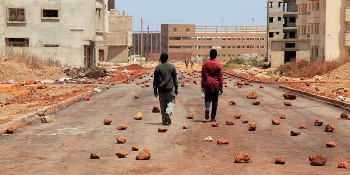 Une scène du film franco-sénégalais d'Alain Gomis,