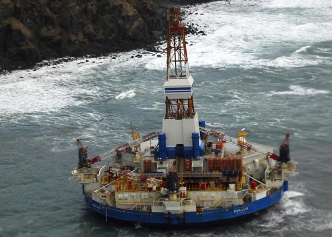 La plate-forme de forage pétrolier