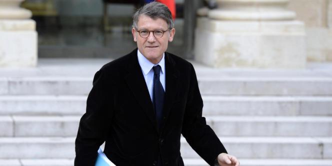 Le ministre de l'éducation Vincent Peillon.