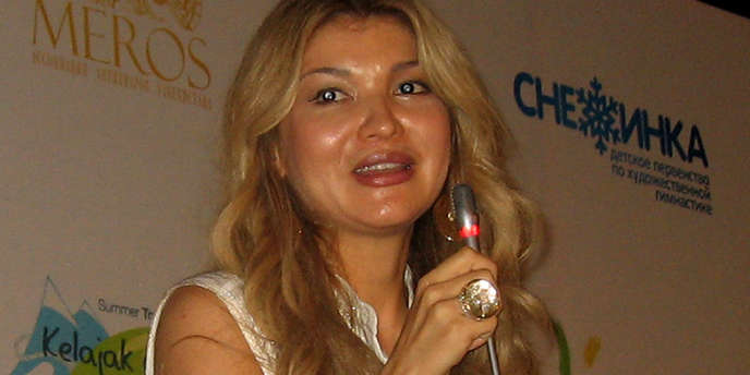 Gulnara Karimova, la fille aînée du dictateur ouzbek Islam Karimov, en août 2012.