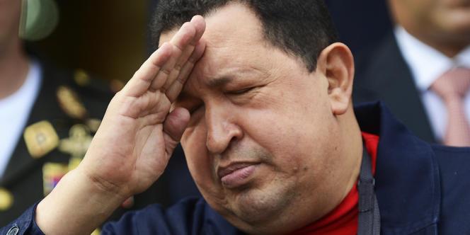 Hugo Chavez, le 2 juin 2012 à Caracas.