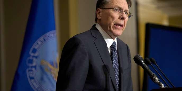 Wayne LaPierre, vice-président de la National Rifle Association, le 21 décembre 2012.