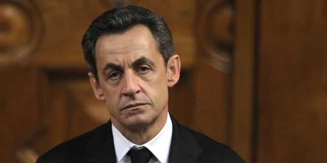 Nicolas Sarkozy, en mars 2012.