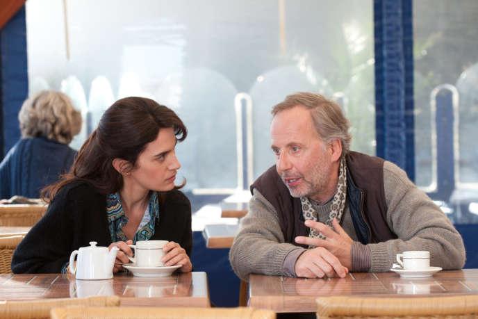 Maya Sansa et Fabrice Luchini dans le film français de Philippe Le Guay,