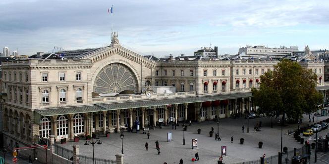 La gare de l'Est à Paris.