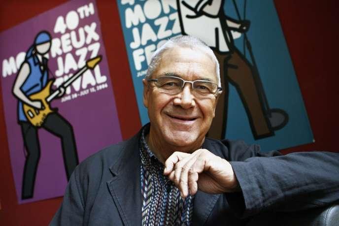 Le fondateur du Montreux Jazz Festival, Claude Nobs, en avril 2006.