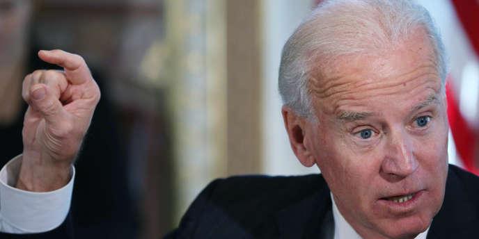 Joe Biden, le 10 janvier à Washington.