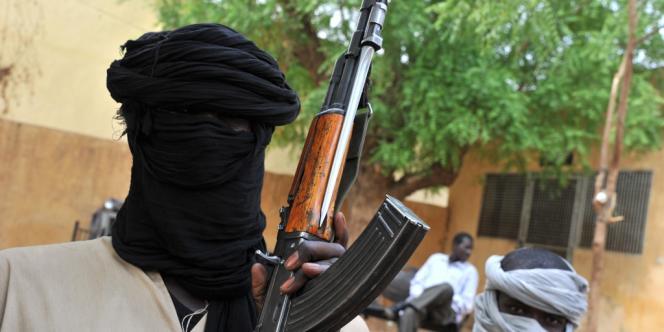 Un combattant du mouvement islamiste Mujao.