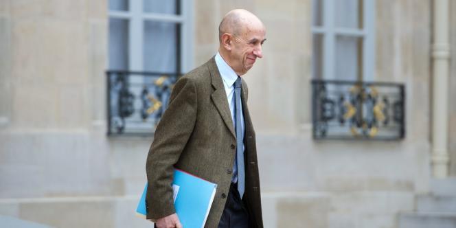 Louis Gallois, le 10 janvier 2013, à l'Elysée.
