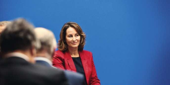 Ségolène Royal (ici en octobre 2012) ne veut pas d'un poste honorifique. Elle a déjà refusé la présidence de l'Institut du monde arabe.