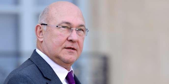 Michel Sapin, le ministre du travail.
