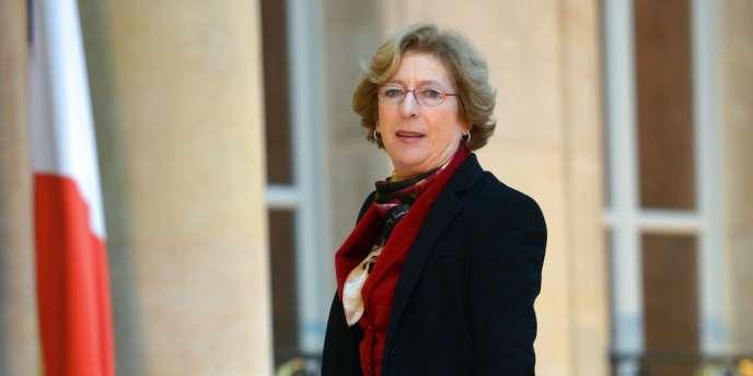 Geneviève Fioraso, ministre de l'enseignement supérieur et de la recherche, le 4 janvier 2013.
