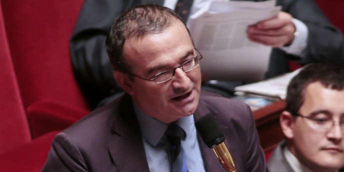 Le député UMP Hervé Mariton, à l'Assemblée nationale, le 23 octobre 2012.
