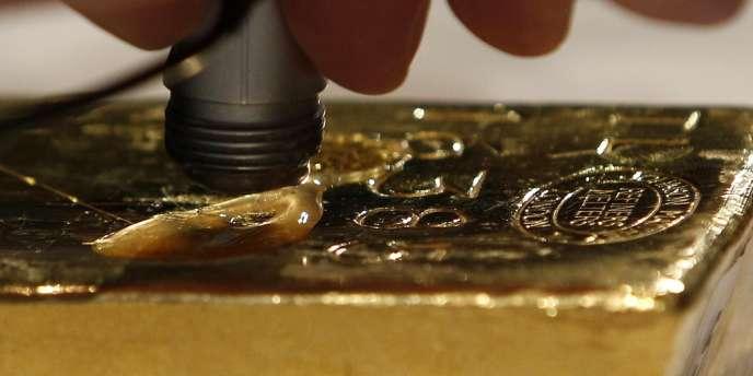 Les réserves d'or nationales à l'étranger sont une