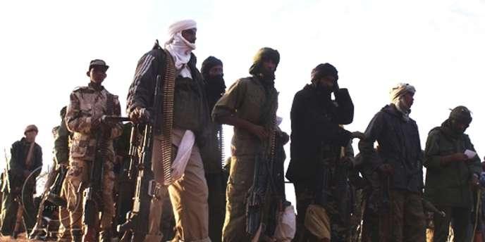 Des combattant du MNLA au Mali.