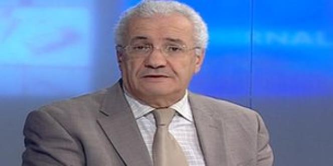 Le ministre de la communication algérien, Mohamed Said Belaid, le 17 janvier.