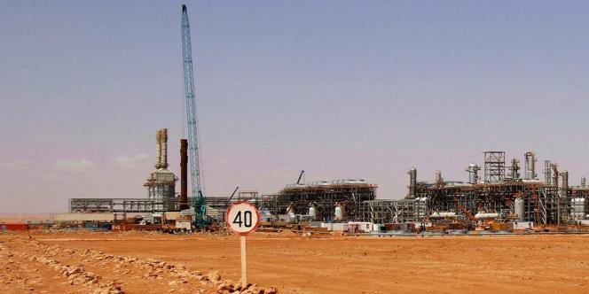 Le site gazier d'In Amenas, dans le sud-est de l'Algérie, près de la frontière libyenne.