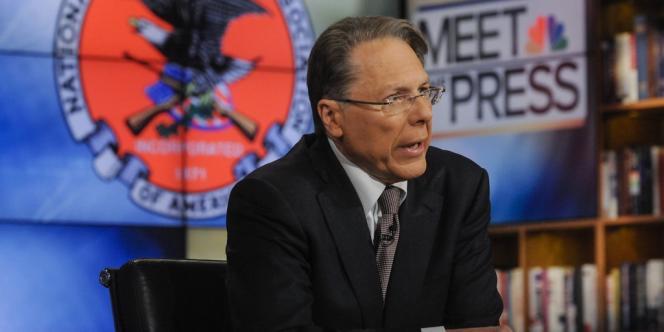 Wayne LaPierre, vice-président exécutif de la NRA, le 23 décembre dans l'émission