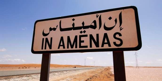 Près du site gazier d'In Amenas, en Algérie, le 17 janvier.