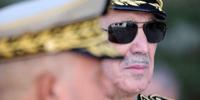 Le général Ahmed Boustilla, commandant de la gendarmerie nationale algérienne, le 7 octobre.